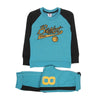 Basket Champs 2 Pcs Suit For Boys - Sea Green (2838)