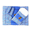 Baby Carry Printed Nest 5 Pcs - Blue (014)