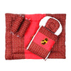 Baby Carry Printed Nest 5 Pcs - Maroon (014)