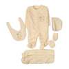 Duck 5 PCs Gift Set For Infants - Yellow (2742)