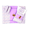 Baby Carry Printed Nest 5 Pcs - Purple (014)