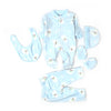 Snowman 5 PCs Gift Set For Infants - Blue (2742)