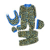 Stylish 5 PCs Gift Set For Infants - Blue (2743)