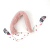 Puppy Furr Muffler For Kids - Pink (011)