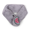 Watermelon Furr Muffler For Kids - Grey (010)