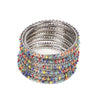 Fancy Fashionable Bangles For Girls - Silver (21035)