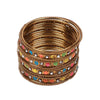 Fancy Fashionable Bangles For Girls - Multi (19085)