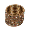 Fancy Fashionable Bangles For Girls - Multi (19085-1)