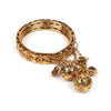 Fancy Fashionable Bangles For Girls - Golden (15575)