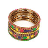 Fancy Fashionable Bangles For Girls - Multi (17510-2)