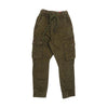 Plain Cargo Cotton Pant For Boys - Brown (0832)