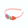 Sunflower/Strawberry Hair Band For Girls - Pink (HB-023)