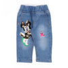 Minnie Mouse Denim Pant For Girls - Blue (5170)