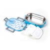 Transparent Lunch Box - Blue (6527)