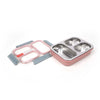 Tedemei Stainless Steel Lunch Box 1L - Pink (6562)