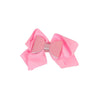 Fancy Glitter Bow Hair Pin For Girls - Pink (HP-008)