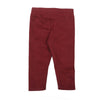 Plain Jersey Tights For Girls - Maroon (4351)