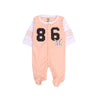 Socks 86 Romper For Infants - Orange (1692)