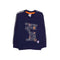 Quotes Sweat Shirt For Boys - Navy Blue (2188)