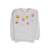 Sequin Stars Fleece Sweater For Girls - Grey (ST-09)
