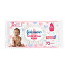 Johnson's Gentle All Over Wipes - 72 Pcs (24812)
