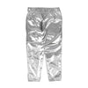 Shiny Foil Printed Tights For Girls - Silver (GT-029)