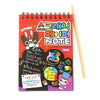 Scratch Note Book For Kids - Red Small (1509)