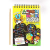 Scratch Note Book For Kids - Yellow Small (1509)