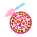 Foodie Goodie Pizza Play Set - Pink (7623-4)