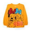 Mickey Mouse BFF T-Shirt For Girls - Mustard (GT-01)