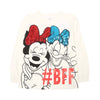 Mickey Mouse BFF T-Shirt For Girls - White (GTS-50)