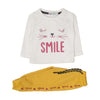 Kitty Smile Suit For Girls 2 Pcs Infants- Multi Color (2561)