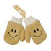 Smiley Winter Gloves For Kids - Yellow (WG-15)