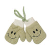 Smiley Winter Gloves For Kids - Green (WG-14)