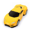 Friction Pull Back Model Car - Yellow (Z1401P)