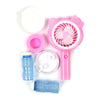 Fancy Bubble Blower Fan - Pink (HL009-2B)
