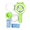 Frog Bubble Blower Fan - Green (HL009-3C)