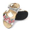 Girls Sandals DES 7 - Silver