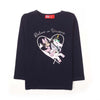 Mickey Mouse & Unicorn T-Shirt For Girls - Navy (2001)