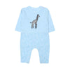 Fancy Giraffe Romper For Boys - Blue (1636)