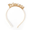 Princess HBD Crown For Girls - Golden