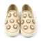 Fancy Slip On Sneaker For Girls - Beige/Gold (HI1888-101)