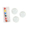 Mini Plates Color Painting Set 3 Pcs (8153)