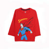 Superman Printed T-Shirt For Boys - Red (BTS-02)