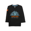 Downtown Printed T-Shirt For Boys - Black (BTS-09)