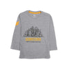 Downtown Printed T-Shirt For Boys - Grey (BTS-07)