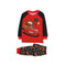 95 Cars 2 Pcs Suit For Boys - Red/Black (001)
