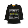 Batman Printed T-Shirt For Boys - Black (BTS-17)