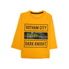 Batman Printed T-Shirt For Boys - Orange (BTS-18)