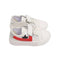 Fancy Strap Style Sneakers For Boys - White (G-661)